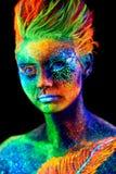 关闭紫外画象 库存图片