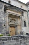 关闭从布拉格的历史建筑入口在捷克 库存图片