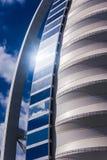 关闭Burj Al阿拉伯人 免版税库存照片
