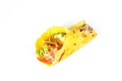 关闭kebab三明治 免版税库存照片
