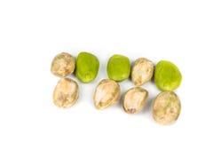 关闭petai,一颗异乎寻常的苦涩和辛辣种子普遍在亚洲 库存图片