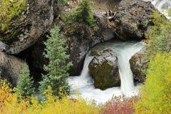 关闭Sneffels小河,登上Sneffels范围,科罗拉多 免版税库存照片