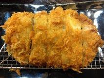 关闭tonkatsu,日本食物 图库摄影