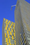 关闭Veer双塔在拉斯维加斯,内华达,美国 图库摄影