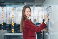 兴旺的企业夫人项目管理 免版税库存图片