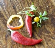 兴高采烈的蔬菜 免版税库存图片