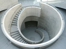 兵库县艺术馆,神户,日本 库存照片