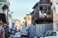 其中一个伊斯坦布尔老区  库存照片