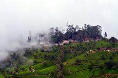 其中一个印度的顶面小山驻地 免版税库存照片