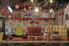 其中一个圣诞节的报亭公平在维罗纳 免版税库存照片