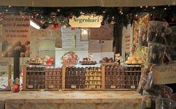 其中一个圣诞节的报亭公平在维罗纳 免版税图库摄影