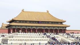 其中一个宫殿在故宫 图库摄影