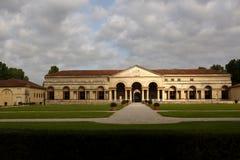 其中一个曼托瓦主要宫殿,意大利 免版税库存照片