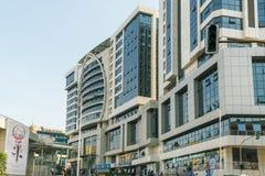 其中一个最干净的城市在非洲,基加利 免版税库存图片