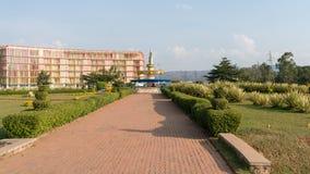 其中一个最干净的城市在非洲,基加利 库存图片