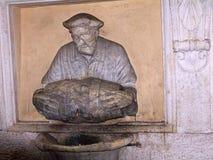 其中一个罗马意大利喷泉  库存照片