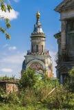其中一个鲍里斯和Gleb修道院塔  免版税库存照片