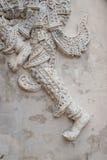 其中一许多故事雕刻关于菩萨的 泰国Buddh 免版税库存图片