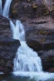 其中一从苏格兰高地的瀑布 免版税库存图片