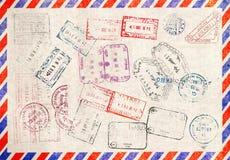 其中任一是可能导航的例证图象损失护照解决方法被称的范围印花税 库存图片