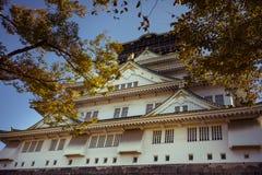 其他场面大阪城堡多数普遍的旅行的目的地一在大阪日本 免版税库存图片