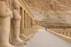 其他埃及的雕象 寺庙纪念碑巨石 库存照片
