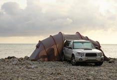 其它海岸帐篷 库存照片