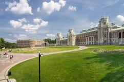 其次伟大女王Ekaterina的宫殿  免版税库存图片