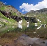 其次湖lusia 免版税库存照片