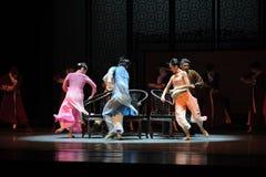 其次音乐会舞蹈过去的戏曲沙湾事件椅子这行动  库存照片