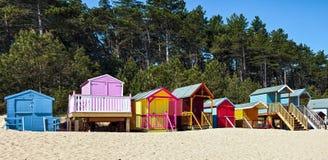其次维尔斯海, NORFOLK/UK - 6月3日:明亮地色的一些 免版税图库摄影