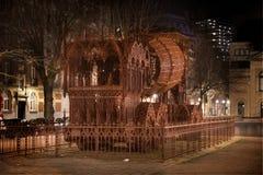 具体卡车的艺术在布鲁塞尔 免版税图库摄影