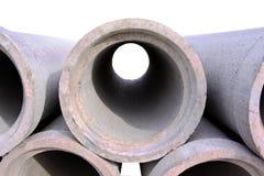 具体排水设备管道 库存图片