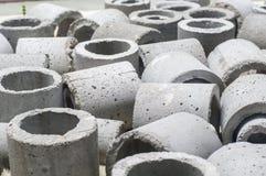具体排水设备管道 免版税库存图片