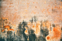 具体概略的纹理 破旧的油漆和膏药纹理或背景墙壁崩裂 免版税图库摄影
