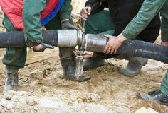 具体水管 免版税库存图片