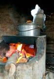 具体火炉 库存图片