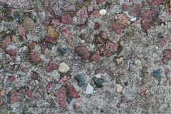 具体灰色纹理 花岗岩混凝土 前面图象 库存图片