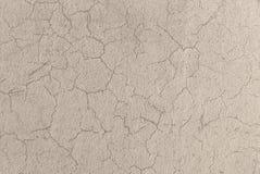 具体背景的水泥破裂的墙壁纹理 库存照片