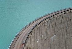 具体水坝 库存图片
