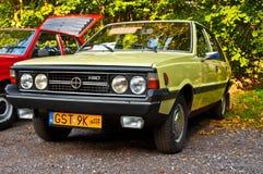 经典之作波兰汽车在车展的Polonez 1500 免版税库存图片