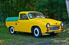 经典之作波兰汽车在车展的Syrena R20 免版税库存图片