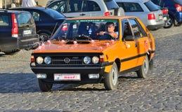 经典之作波兰汽车 免版税库存照片