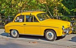 经典之作波兰汽车FSM Syrena 105 免版税库存图片