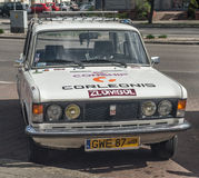 经典之作波兰汽车Polski菲亚特125p 免版税图库摄影