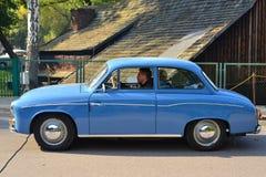经典之作波兰汽车Syrena 104 免版税库存照片