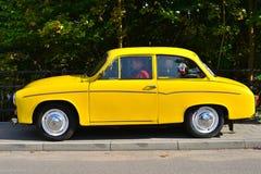 经典之作波兰汽车Syrena 105 免版税库存图片