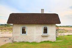 经典之作被恢复的房子 免版税库存照片
