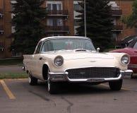 经典之作被恢复的Ford Thunderbird 库存照片