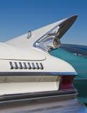 经典之作1961年克莱斯勒汽车 免版税库存图片